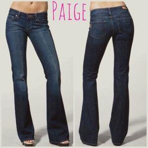 Paige dark blue Canyon Laurel jeans size 25